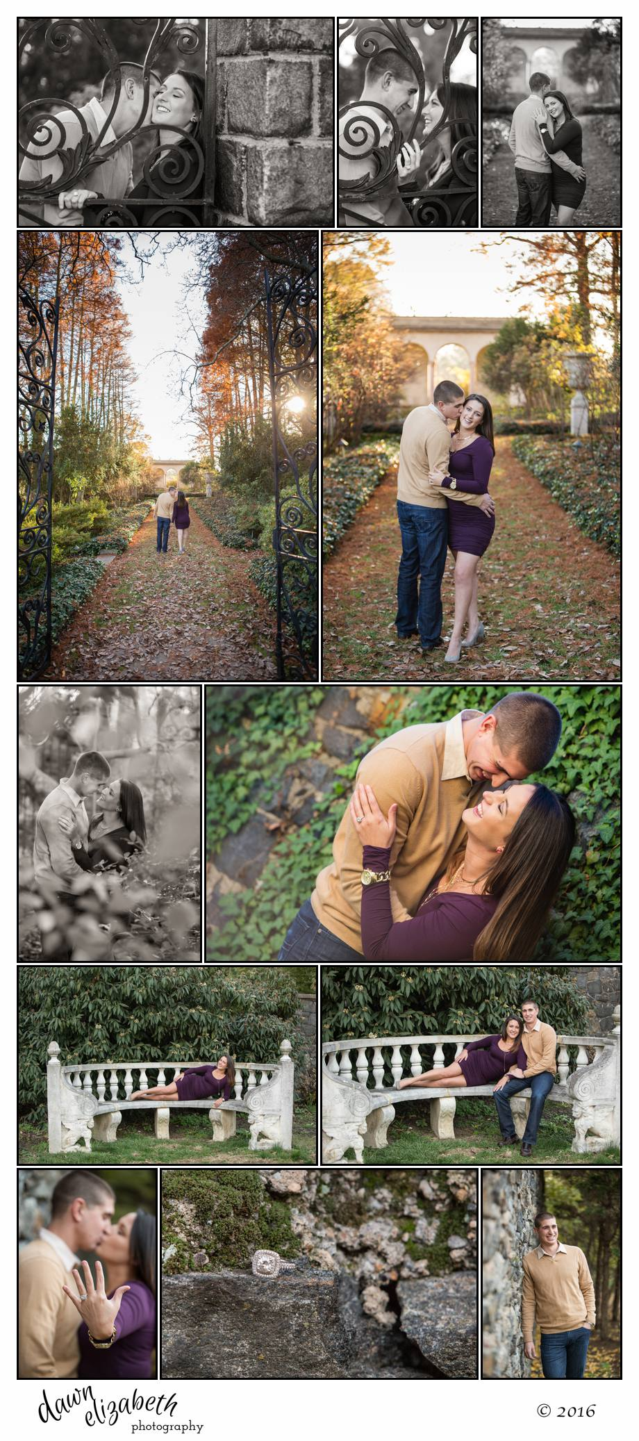Beautiful Garden Engagement 2