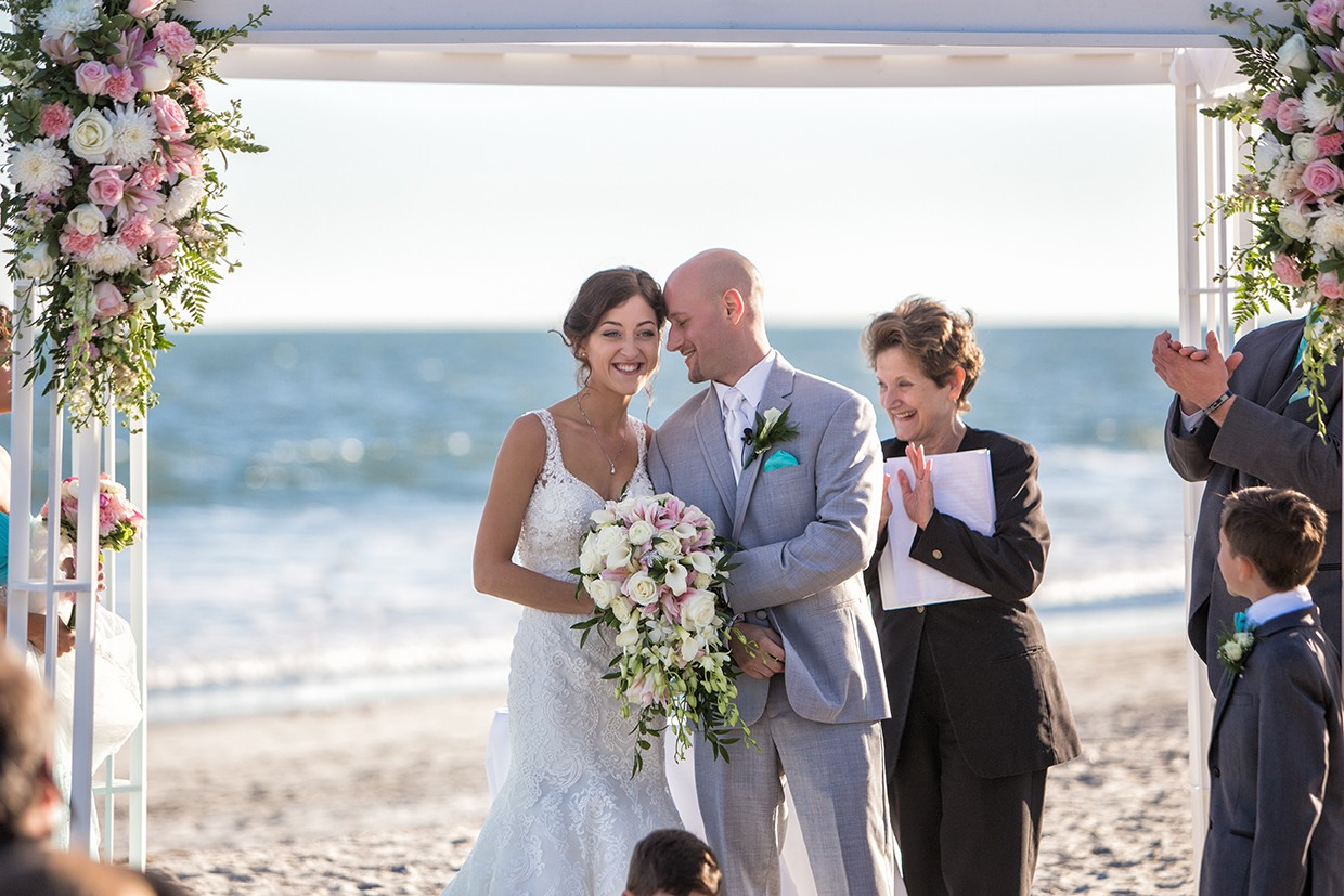 Shane and Ashley's Ocean City Wedding